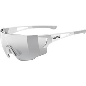 UVEX sportstyle 804 V Glasses, silver white/smoke